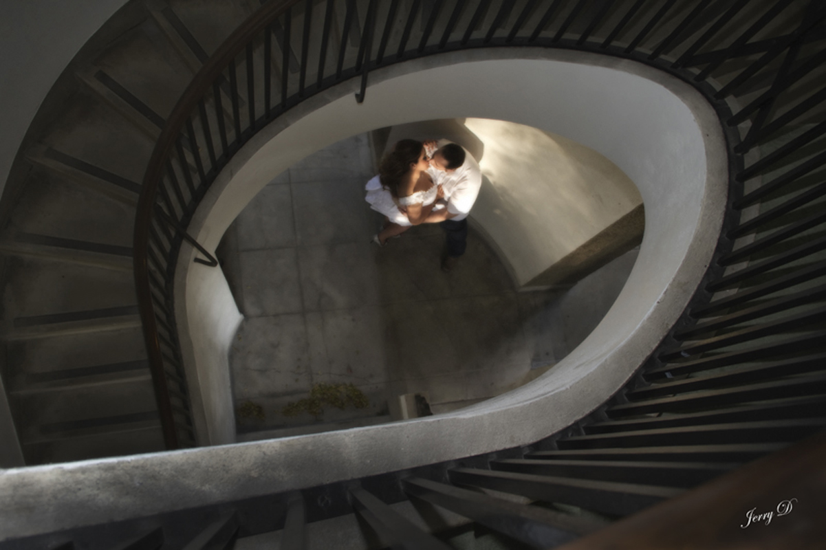 Stairs Hug